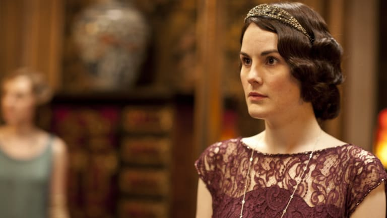 Michelle Dockery as Mary Crawley in Downton Abbey.