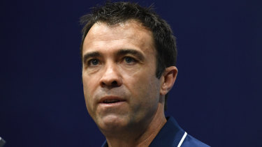 Coach Chris Scott maintained the decision to drop Rhys Stanley was not the reason the Cats lost their qualifying final to Collingwood.