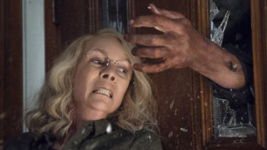 """""""Women have suffered forever"""": Jamie Lee Curtis in Halloween, the  new instalment of the classic horror series."""