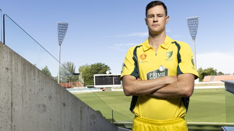The 'Dorff' is back: Jason Behrendorff has been called into the Australian team.
