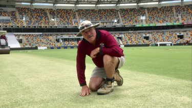 Gabba curator Kevin Mitchell remembers his father's advice.'Don't make the same mistake twice.'