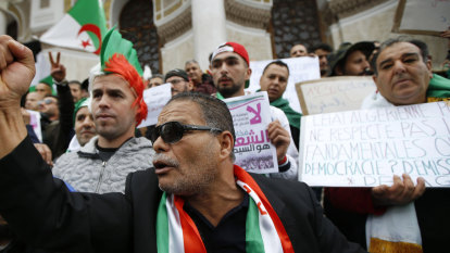 'It's time to break the chains': Algeria roars for change