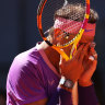 The reaction: Rafael Nadal.