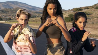 Revamped Charlie's Angels is hardly a feminist statement but has its moments