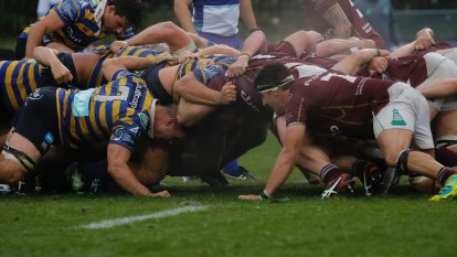 Second rugby player tests positive as new competition put on hold