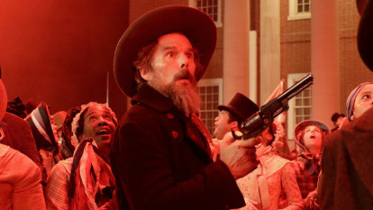 Ethan Hawke's dark and bloody new show is a wild ride worth taking
