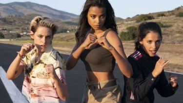 Kristen Stewart,Ella Balinska andNaomi Scott are the new Charlie's Angels.