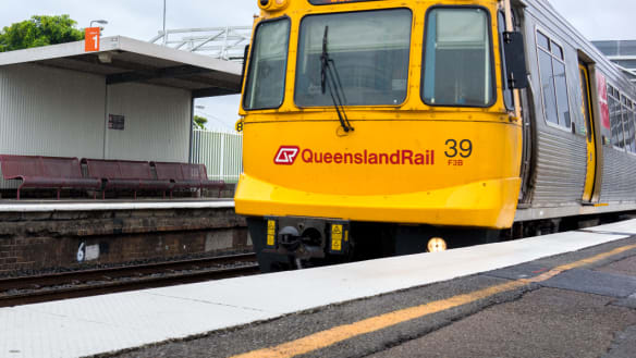 Brisbane train line reopens after emergency overhead line repairs