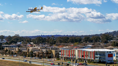 Drone delivery service Wing looks to deliver the goods for Logan tradies