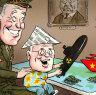 Morrison, the third amigo, speaks loudly to Xi