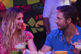 Emma Roberts and Luke Bracey develop a decent rapport in the film Holidate.
