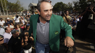 Former Masters winner Angel Cabrera has been arrested in Brazil.