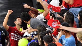 Novak Djokovic has led the Serbian charge in the ATP Cup, converting fans to the new event in the process.