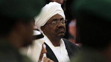 Omar al-Bashir in 2011.