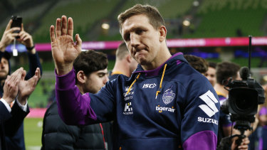 All signs point to Ryan Hoffman missing out on the NRL grand final on Sunday.