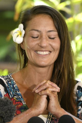 Amanda Eller was rescued after surviving 17 days in a Hawaii reserve.