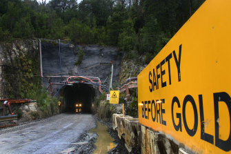 The Henty Gold Mine in Tasmania.