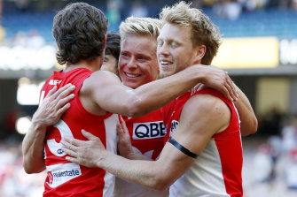 Isaac Heeney has made a quick recovery from a broken hand.