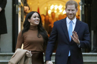 Meghan and Harry have signed on with Netflix.