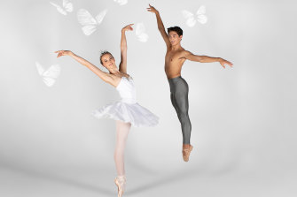 The Australian Ballet School presents 'Butterfly'.