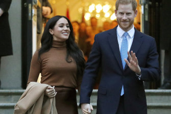 The Duchess and Duke of Sussex.