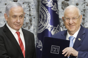 Prime Minister Benjamin Netanyahu has been given 28 days by President Reuven Rivlin to form a coalition capable of governing Israel.