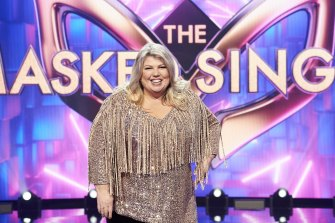 Comedian Urzila Carlson joins the judging panel on The Masked Singer.