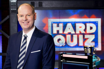 Tom Gleeson is back as promised on Hard Quiz.