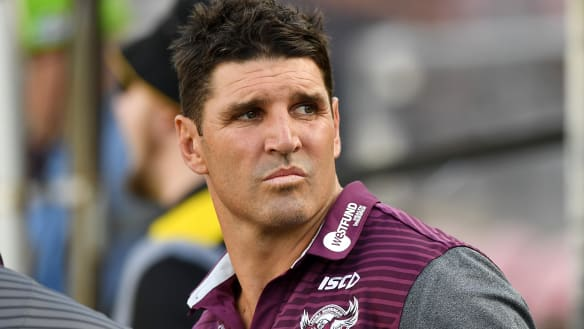 Is Trent Barrett strong enough to coach Manly?