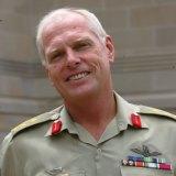 Jim Molan in uniform.
