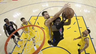 Andrew Bogut will be seeing more game time for the Warriors.