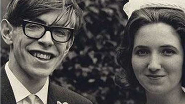 Stephen Hawking and Jane Wilde, 1965.