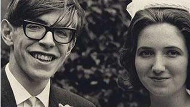 Stephen Hawking and Jane Wilde, 1965.