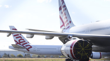 Virgin has offloaded its long-haul fleet but says it will rebuild its international network as demand recovers from COVID-19.
