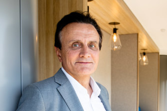 Pascal Soriot has been supervising the global rollout of the AstraZeneca vaccine from Sydney since December.