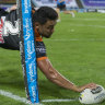 Tigers star Nofoaluma urges teammates to move on from Cleary departure