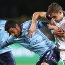 Sydney FC seal vital win against A-League premiers Perth Glory