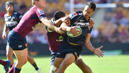 Brumbies coach McKellar says axe will swing for Crusaders clash