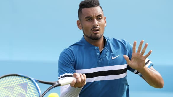 Kyrgios confident after finally toppling Murray