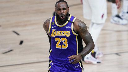 NBA round-up: LeBron dominates, Lakers take 2-1 lead