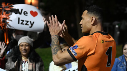 Folau scores try for Southport in rugby league return