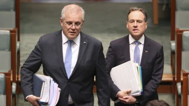 Prime Minister Scott Morrison and Aged Care Minister Greg Hunt were pressed hard on aged care homes this week.
