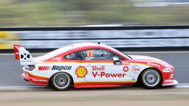 Scott McLaughlin was untouchable again during qualifying.