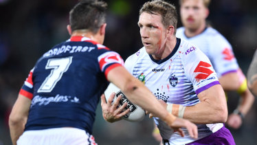 Off, man: Ryan Hoffman will retire from the NRL at the end of the 2018 season.