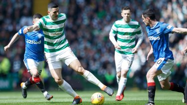 Scottish football clubs Celtic and Rangers have one of the fiercest rivalries in any sport.