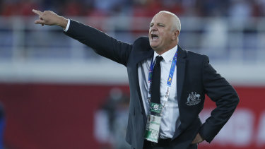 Sharpen up: Graham Arnold wants the Socceroos to start putting teams away when they have the chance.