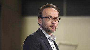 Greens leader Adam Bandt. The Greens plan to fight to stop the government's stage three tax cuts from coming into effect.