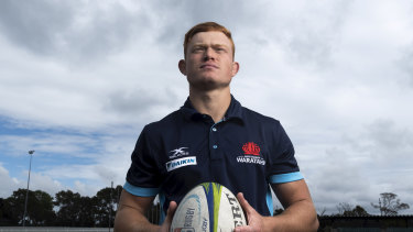 Eastwood No.10 Tane Edmed has signed a new two-year deal with the Waratahs ahead of Saturday's Shute Shield final against Gordon.