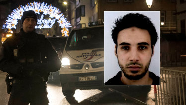Cherif Chekatt, inset, was killed in a shootout with police.