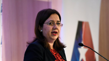 Queensland Premier Annastacia Palaszczuk has defended Minister Leeanne Enoch's performance.